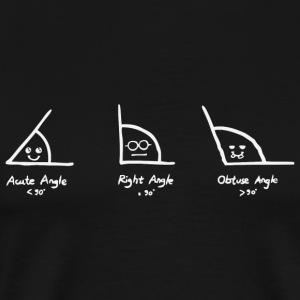 Angle - Know your Angles - Men's Premium T-Shirt