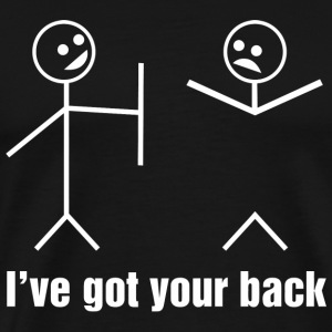 Girlfriend - Funny Stick Figures - I've Got Your - Men's Premium T-Shirt