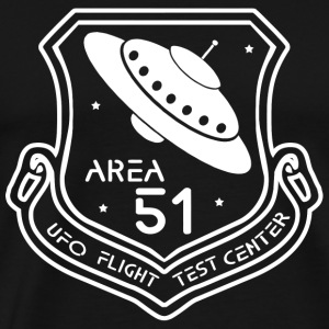 Area 51 - Area 51 UFO Flight Test Center - Men's Premium T-Shirt