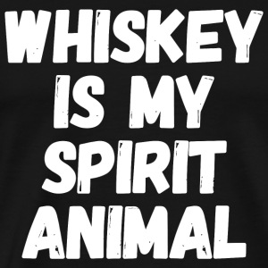 Whiskey - Whiskey is my Spirit animal - Men's Premium T-Shirt