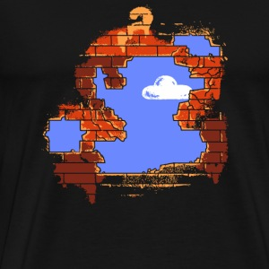 Mario - Brick Breaker - Men's Premium T-Shirt