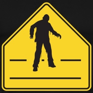 Zombie - Zombie Crossing - Men's Premium T-Shirt
