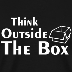 Think Outside the box - Think Outside the box - Men's Premium T-Shirt