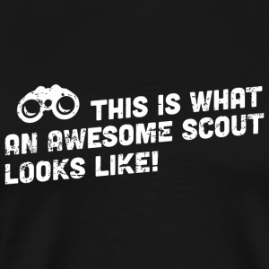 Scout - This is what an awesome scout looks like - Men's Premium T-Shirt