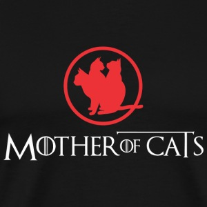 Cat - Mother Of Cats Shirt - Men's Premium T-Shirt