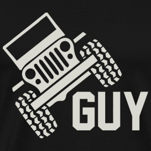 Jeep - Lifted Truck Guy 4 wheeler Cj Monster Tr - Men's Premium T-Shirt