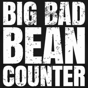 Bean - Big Bad Bean Counter - Men's Premium T-Shirt