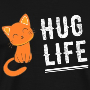 Kitty - Hug Life Kitty - Kitten Kitteh Cat - Men's Premium T-Shirt