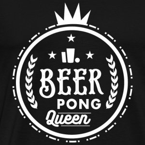Beerpong - Beerpong Queen - Men's Premium T-Shirt