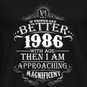 1986 - 1986 with age - Men's Premium T-Shirt