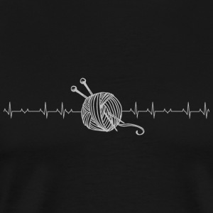 Sewing - yarn Heartbeat Sewing - Men's Premium T-Shirt