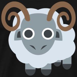 Sheep - Sheep Ram - Men's Premium T-Shirt