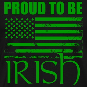 St patricks day - Proud To Be Irish with America - Men's Premium T-Shirt