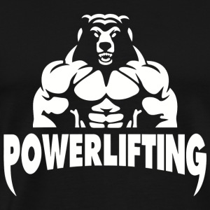 Powerlifting - Powerlifting fitness gym - Men's Premium T-Shirt
