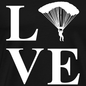 Skydiving - Love Skydiving Skydive - Men's Premium T-Shirt