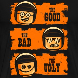 Bad Cop the Lego movie - Good, bad, ugly - Men's Premium T-Shirt