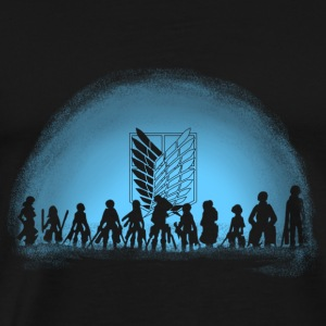 Attack on Titan - Anime fan T-shirt - Men's Premium T-Shirt
