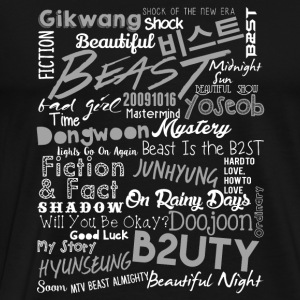 Beast special fan - Will you be okay? - Men's Premium T-Shirt
