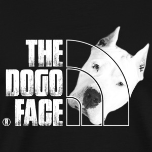 Dogo dog lover T - shirt - The Dogo face - Men's Premium T-Shirt