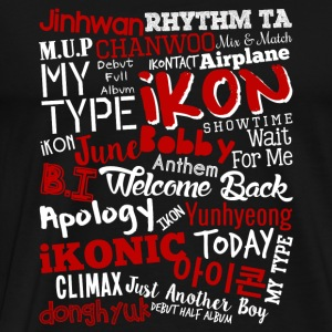 Ikon special fan - Just another boy - Men's Premium T-Shirt
