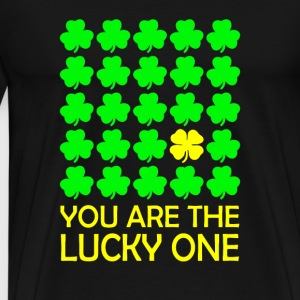 Irish symbols - You are the lucky one - Men's Premium T-Shirt