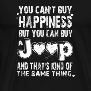 Jeep - That's kind of the same thing as happines - Men's Premium T-Shirt