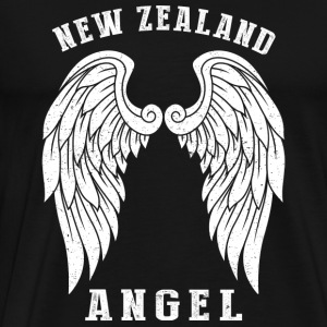 New Zealand angel - Angel's wings - Men's Premium T-Shirt