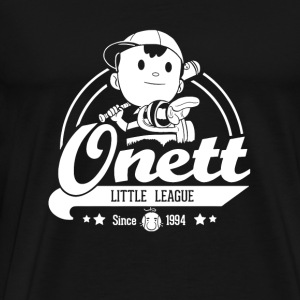 Onett little league - Super Smash Bros. fan - Men's Premium T-Shirt