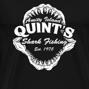 Quint's island - Amity island, shark fishing - Men's Premium T-Shirt