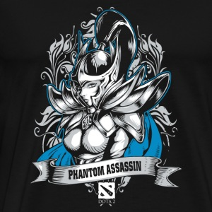 Phantom Assassin Phantom Assassin Dota 2 gamer - Men's Premium T-Shirt