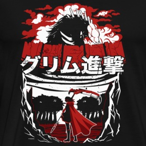 Rwby anime fan horror T-shirt - Men's Premium T-Shirt