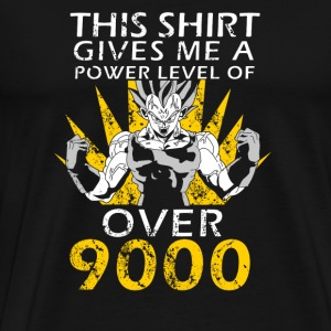 Songoku - This shirt gives me a power level - Men's Premium T-Shirt