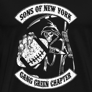 Sons of New York fan - Gang green chapter - Men's Premium T-Shirt