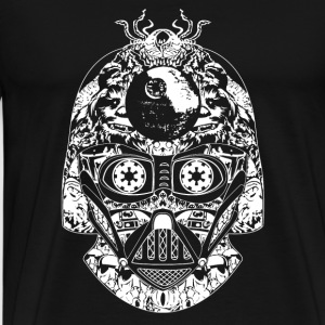 Star Wars Darth Vader helmet T - shirt - Men's Premium T-Shirt