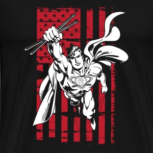 Superman coloring pages T - shirt - Men's Premium T-Shirt