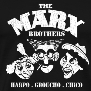 The Marx Brothers fan - Harpo, Grouchom, Chico - Men's Premium T-Shirt