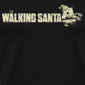 Walking Dead The walking Santa The Walking D - Men's Premium T-Shirt