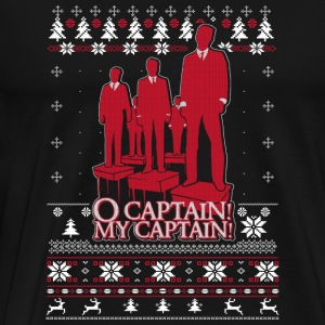 Ugly Christmas sweater for captain fan - Men's Premium T-Shirt