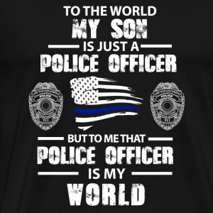 Police Police officer My son is just a polic - Men's Premium T-Shirt