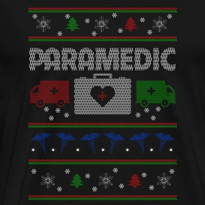 Paramedic - Christmas paramedic sweater - Men's Premium T-Shirt