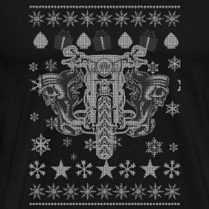 Motorcycle - Christmas motorcycle gift sweater - Men's Premium T-Shirt