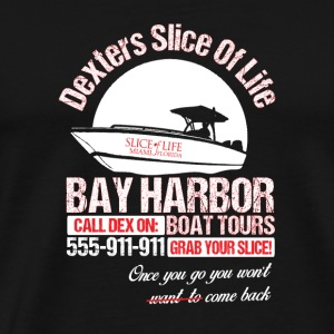 Bay harbor - Once you go you won't want to be ba - Men's Premium T-Shirt