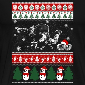 Paratrooper - paratrooper merry xmas sweater - Men's Premium T-Shirt