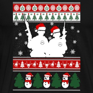 Infantry - infantry merry xmas swearter - Men's Premium T-Shirt