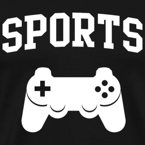 Gamer - Sports Gamer Controller - Men's Premium T-Shirt