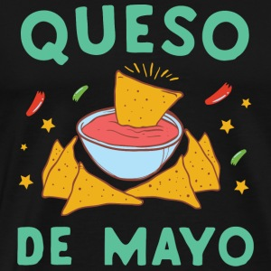Cinco de mayo - Queso De Mayo Nacho Lover Cinco - Men's Premium T-Shirt