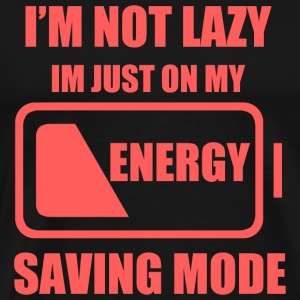 Lazy - My Energy Saving Mode - Men's Premium T-Shirt