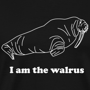 Walrus - I am the walrus - Men's Premium T-Shirt