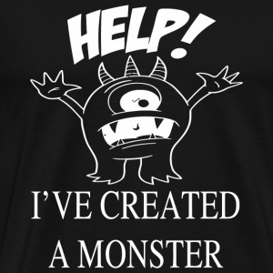 Monster - Help! I've created a monster - Men's Premium T-Shirt