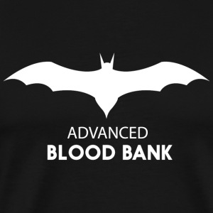 Bat - Bat. Advanced Blood Bank - Men's Premium T-Shirt